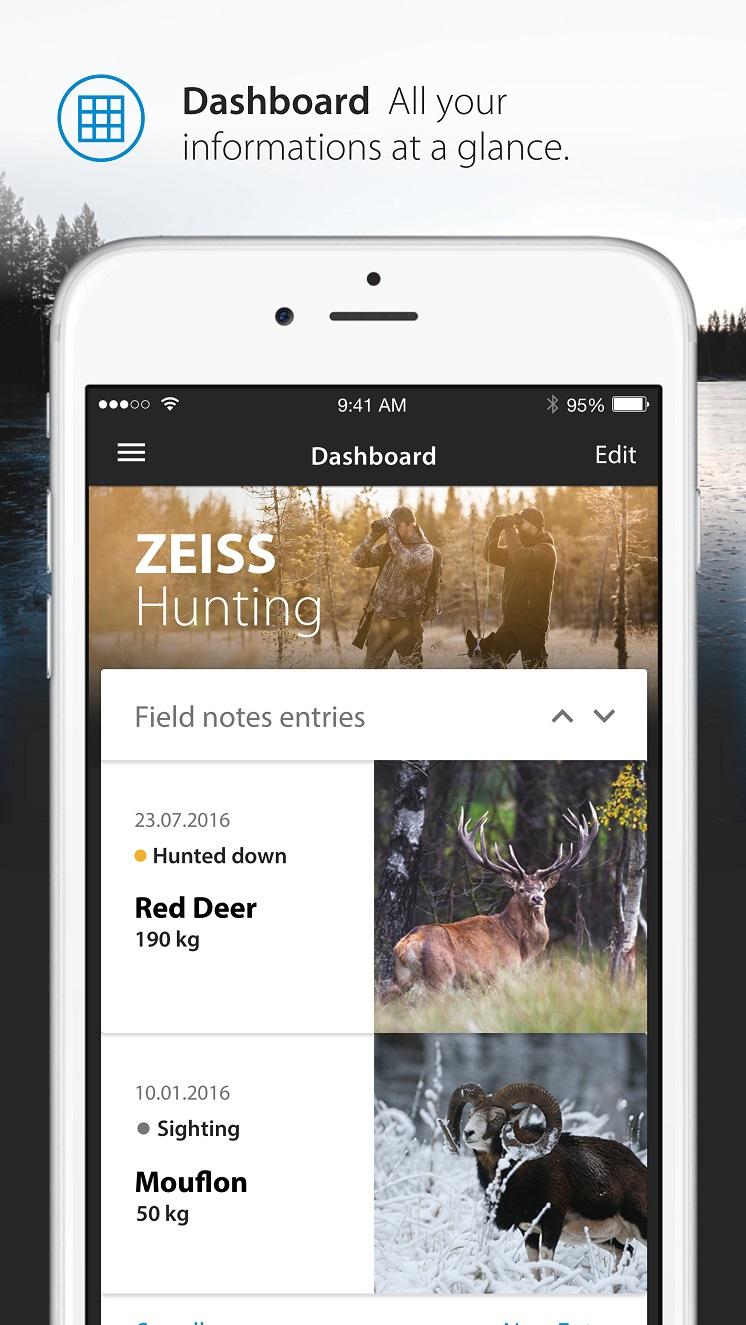 Uutuus: Zeiss Hunting App